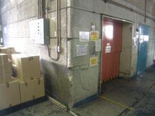 保護アングルの修理:工事前写真