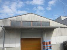 鉄製サッシ窓硝子:工事後写真