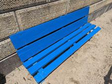 木製ベンチの修理:工事後写真