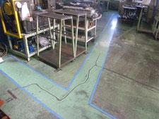 塗床防滑仕上げ:工事前写真