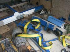立体駐車場の解体撤去:工事中写真