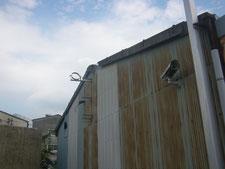壁とケラバの改修:工事前写真