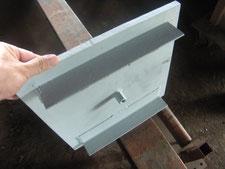 鉄製枡蓋に取り替え:工事中写真