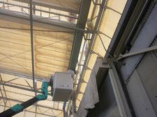 雨樋の取替:工事中写真