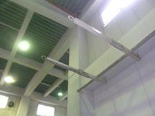 配管仕切りパイプの改修:工事後写真