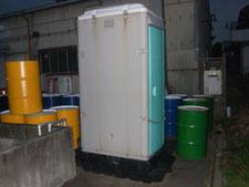 仮設トイレの入れ替え:工事前写真