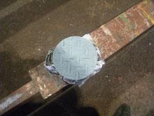 マンホールの蓋を取り替え:工事後写真