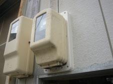電気メーター板の交換:工事後写真