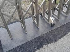 レール土台鉄板:工事後写真