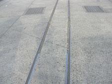 門扉レールの修理:工事前写真