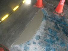 塗床のモルタル補修:工事後写真