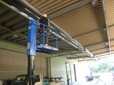 雨樋の解体撤去と新設:工事中写真