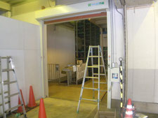 門番の新設:工事中写真