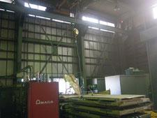 工場内中二階の新設:工事前写真
