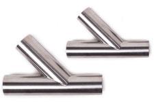 Rohrformteile, Rohr Abzweigstücke 45°,30°, Edelstahl 1.4301