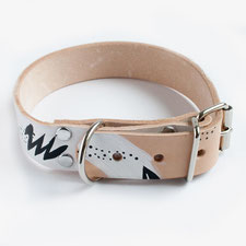 Hundsoadli Halsband LEder