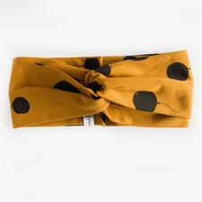 hundsoadli Stirnband in ocker Turban