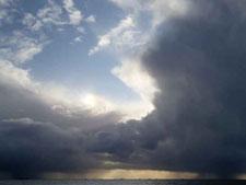 Regen über der Hallig_2