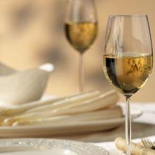 Silvaner, der passende Wein zum Spargel