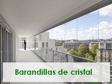 barandillas de cristal,para un diseño mas espectacular, terrazas completamente de cristal y seguras