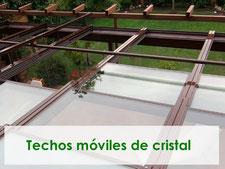 techos moviles de cristal, automatizados, automáticos, instalación completa