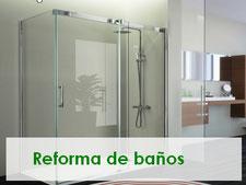 reforma tu baño y crea un baño espectacular en tu casa, cambia tu bañera por ducha, mamparas de baño con un diseño limpio