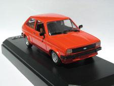 Ford Fiesta 1:43 orange
