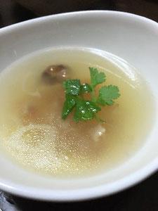 アキレス腱の薬膳スープ