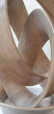 Wood as sculptural building element, image by Heidi Mergl Architect, Sculpture by OBJECT STUDIO
