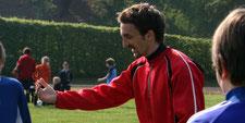 Trainer Dominik Langenegger