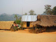 山岳少数民族の住居
