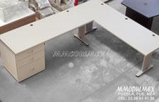 Muebles para oficina, escritorios, mesas de juntas, libreros, archiveros