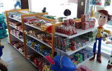 Muebles para dulcerías, Góndolas para dulces