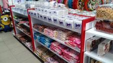 Muebles para dulces, Exhibidores para dulces