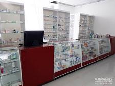 Vitrinas para farmacia, vitrinas para papelería