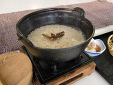 トラフグヒレ酒入り玄米粥