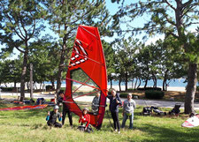 ウインドサーフィン スピードウォール speedwall 海の公園 横浜 神奈川 スクール