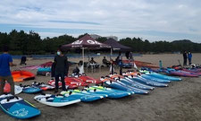 ウインドサーフィン スピードウォール speedwall 神奈川 横浜 海の公園 SUP スクール 体験