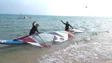 ウインドサーフィン スピードウォール 海の公園 横浜 スクール 神奈川