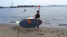 ウインドサーフィン sup 海の公園 横浜 神奈川 スピードウォール 初心者 体験 スクール