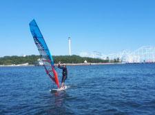 ウインドサーフィン 海の公園 SUP スピードウォール speedwall 神奈川 横浜 初心者 体験 スクール