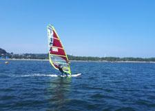 ウインドサーフィン SUP 海の公園 スピードウォール 神奈川 横浜 初心者 体験 スクール
