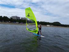 ウインドサーフィン スクール 神奈川 横浜 海の公園 SUP 体験 初心者