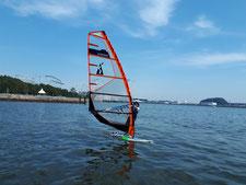 ウインドサーフィン 海の公園 神奈川 横浜 スピードウォール スクール
