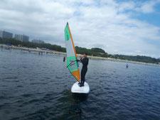 ウインドサーフィン SUP 海の公園 神奈川 横浜 スピードウォール スクール 体験 初心者