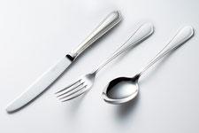 山崎金属工業の洋白銀器カトラリー「ロイヤル」