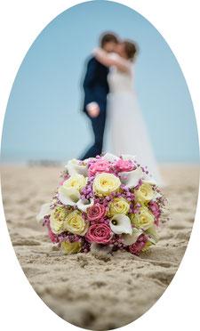 Bild einer freien Trauung auf Sylt. Tag Eurer Hochzeit