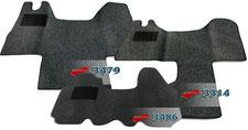 Autoteppich/ Autofussmatte für Renault Master und Renault Trafic