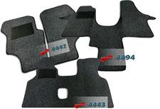 Autoteppich/ Autofussmatte für VW T3, VW LT, VW T4, VW T5, VW Crafter