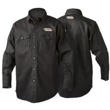 Camisa Negra Lincoln